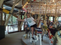 Elysburg, PA: 1913 hand-carved carousel with 63 horses and 3 chariots, one of the largest in the country.