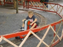 His mother said the Hand-cars were her favorite ride as a child.