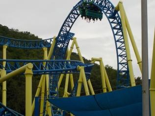 A modern coaster
