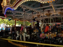 Hershey, PA: 1919 Philadelphia Tobagan Co. carousel: 42 jumping horses; 24 stationary, 2 chariots - 2nd largest of its type.
