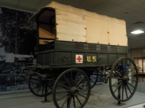 I drive a Red Cross Emergency Response Vehicle. This 1898 wagon was the first one.