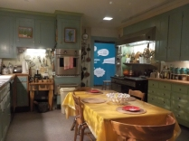Julia Child's Cambridge, Mass. kitchen, now in the Museum of American History. Everything is authentic.