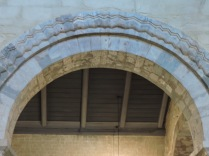 Arches made after a fire
