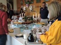 Tea, Coffee and cakes at Fossli Hotel