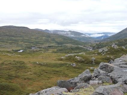 Hardangervidda Plateau from Sysen Dam