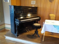Piano on which Edvard Grieg composed his Opus 66
