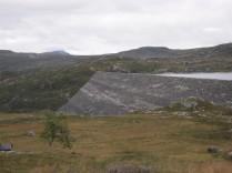 Sysen Dam over a half mile long