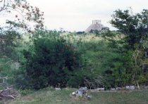 Castillo from the Observatory 9 Jan 90