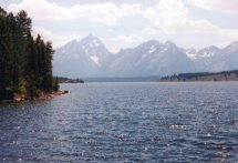Lake Jackson from the dam 17 Jul 2000, Grand Teton National Park