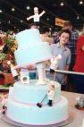 Semi-pro novelty cake
