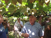 Kiwi orchard owner Graham