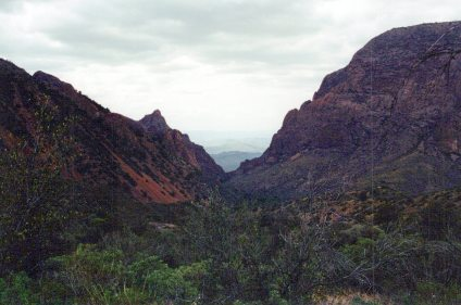 """Big Bend National Park """"The Window"""" from the trail to Lagunas."""