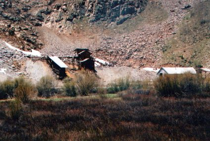 An old mine south of Silverton.