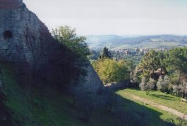 A portion of the city walls