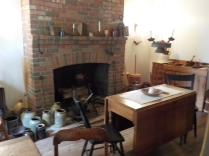 Canal weaver Daniel Boyd brought the 1790 floor boards for this 1825 home from Ireland.