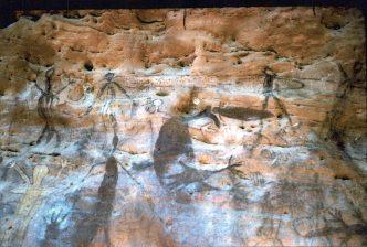 Guguyalangi aboriginal cave paintings