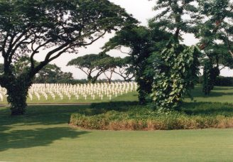 American Cemetery 1991 outside Manila
