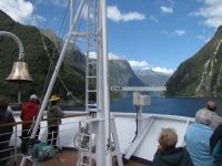 Entering Milford Sound