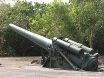 U.S. artillery piece.