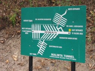 Plan of the tunnel