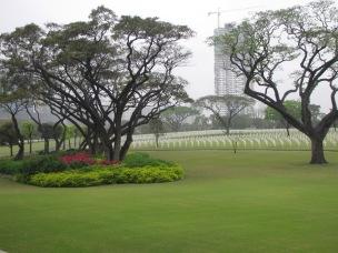 American Cemetery 2011 in Manila suburbs