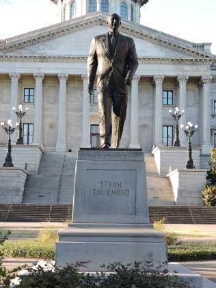 Stom Thurmond was a World War Two hero, a Governor, Representative, Senator and segregationist.